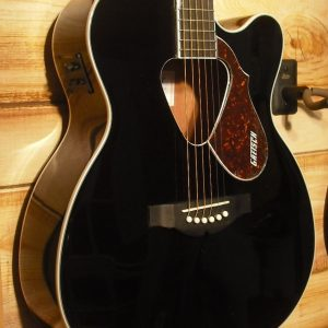 Gretsch® G5013CE Rancher Jr Acoustic Electric Guitar Black