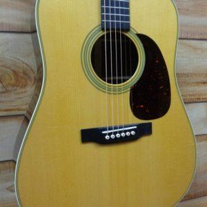 2017 Martin® D28 Dreadnought Acoustic Guitar Natural w/Case